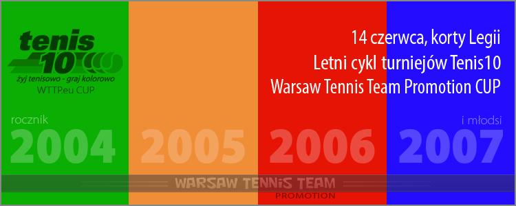 Turnieje tenisowe dla najmłodszych