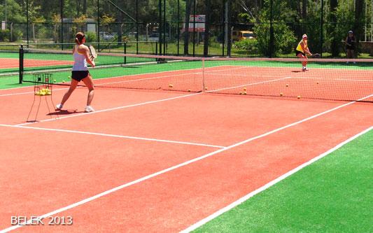 obóz tenisowy Belek 2013